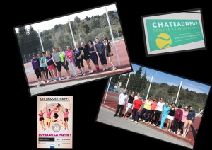 Raquettes FFT Chateauneuf